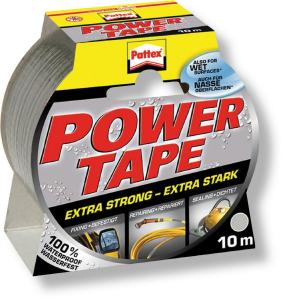 Lepicí páska Pattex Power Tape 50 mm x 10 m - stříbrná